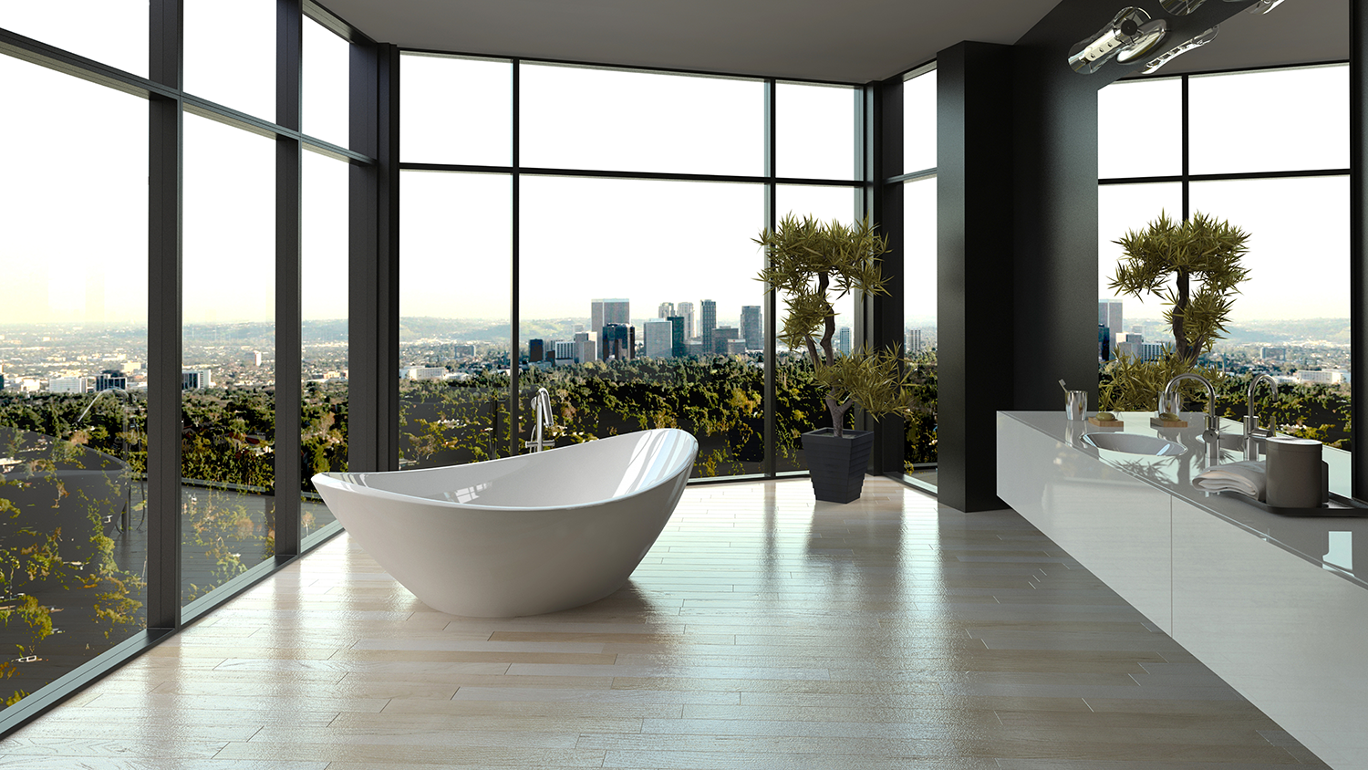 SMART GLASS BATH 2 ON